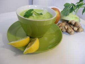 Rohkost Gruene Suppe