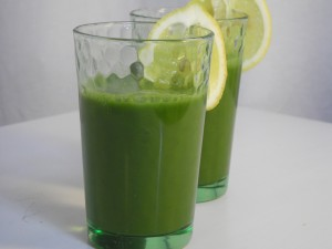 Rohkost Green Smoothie Ingwer