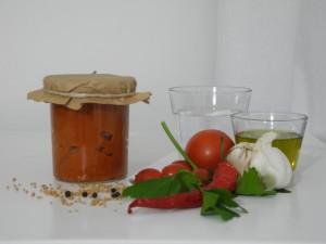Rohkost Würziger Tomatenaufstrich