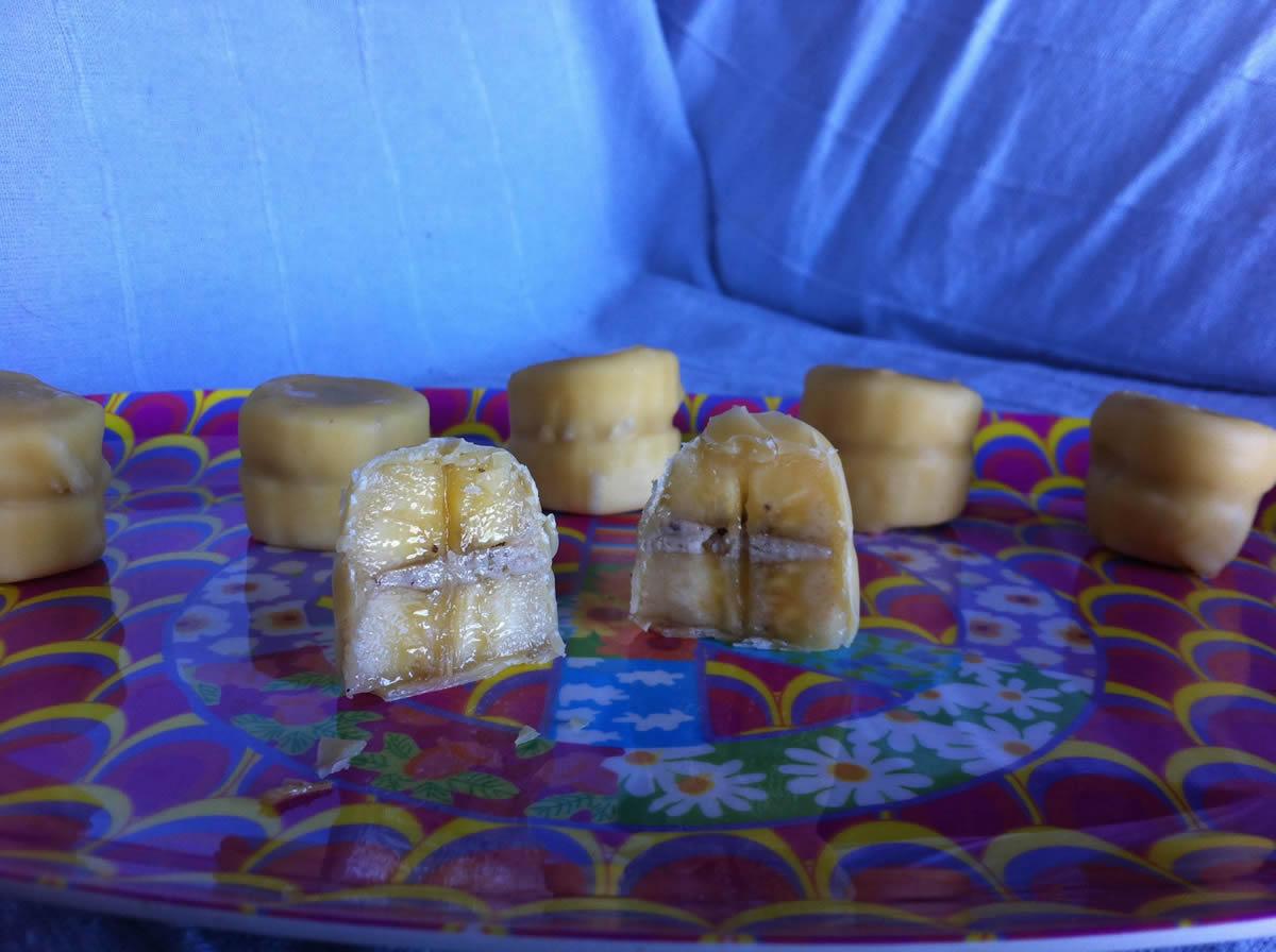 Bananen-Rohkost-Pralinen