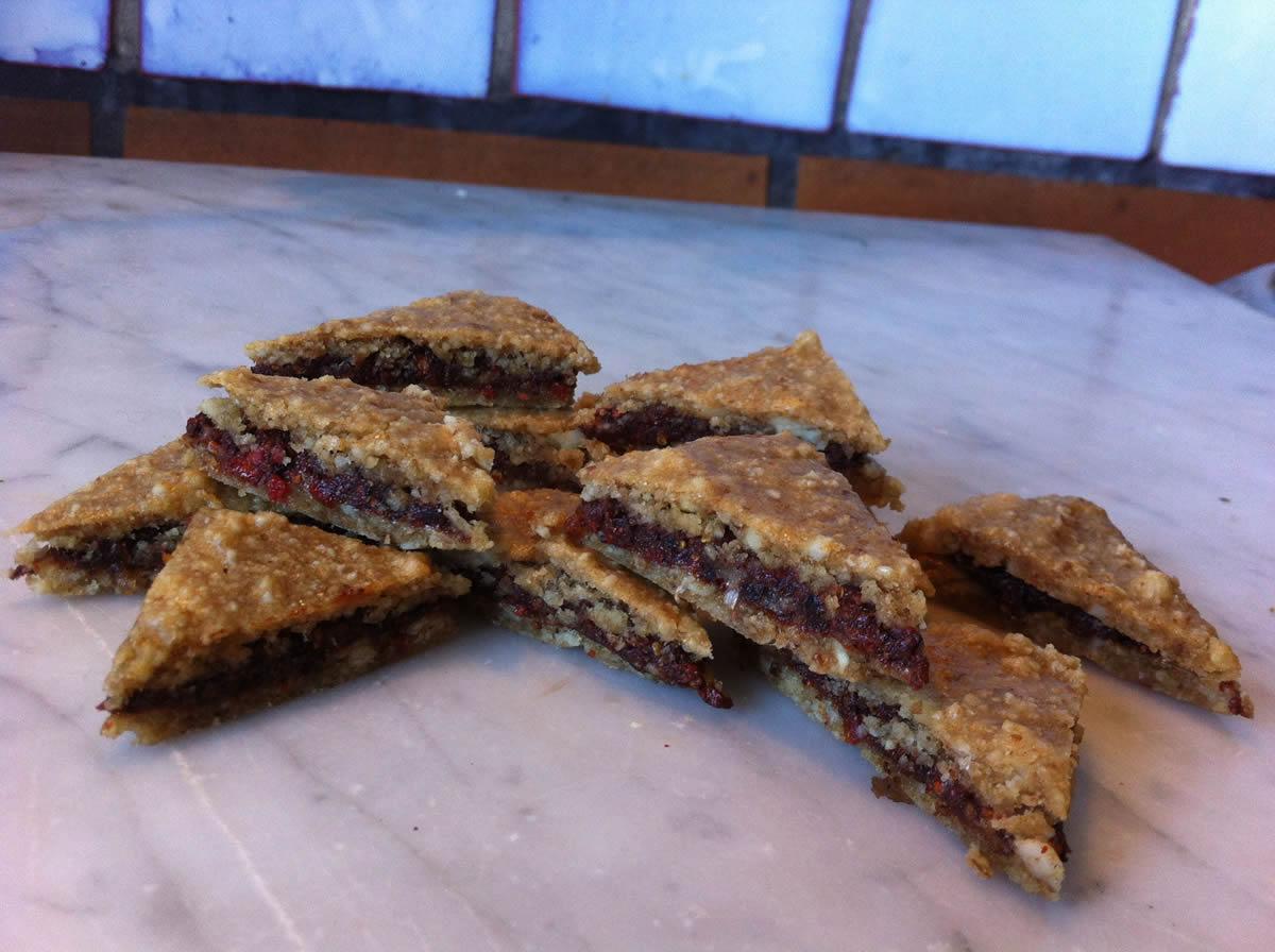 Gefüllte Rohkost-Schokoladen-Kekse